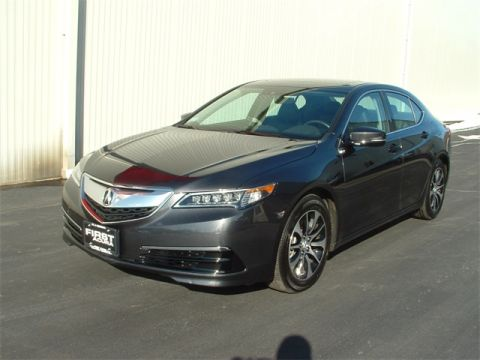 Certified Pre-Owned 2015 Acura TLX 2.4L FWD 4D Sedan