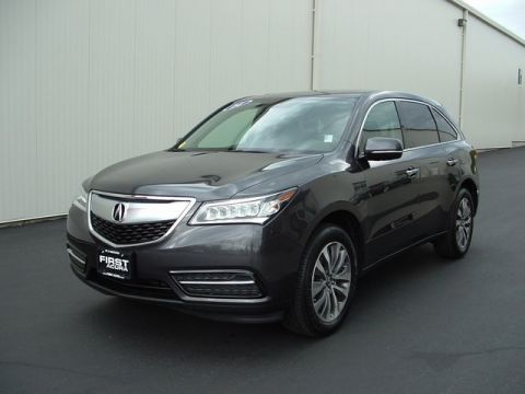 Certified Pre-Owned 2014 Acura MDX 3.5L Technology Package AWD